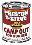 WMMR's Preston & Steve - Campout for Hunger