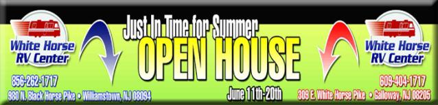 White Horse RV Open House